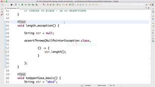 Step 10 - Tip - @DisplayName and test methods need not be