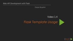 Flask Template | Flask Template Usage Learning Path Up And Running With Flask Video