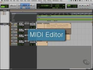 MIDI Editor - Avid Pro Tools 10 [Video]