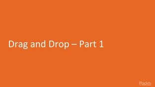 Drag and Drop- Part 1 - Learning Angular 7 [Video]