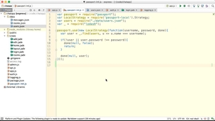 Passport Session Serialization - Node js Web Apps with
