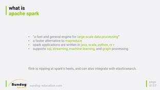 Integrating Spark and Hadoop with Elasticsearch - Elasticsearch 5