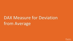 DAX Measure for Deviation from Average - Getting Actionable