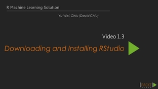 Downloading and Installing RStudio - R Machine Learning