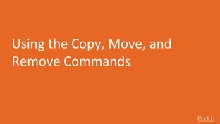 Using the Copy, Move, and Remove Commands - Advanced Linux