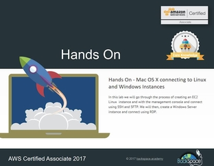Hands On - Mac OS X connecting to Linux and Windows EC2 - AWS