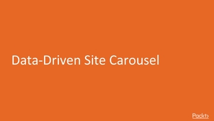 Data-Driven Site Carousel - Hands-On Application Development with