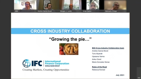 Thumbnail for entry Cross Industry Collaboration (DC Session)-Jul 14, 2021
