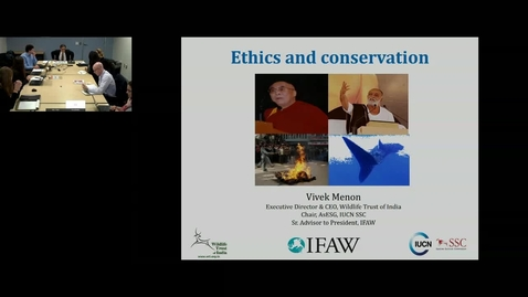 Thumbnail for entry GWP Webinar- Ethics and Conservation