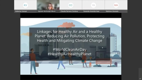 Thumbnail for entry Linkages for Healthy Air and a Healthy Planet Reducing Air Pollution, Protecting Health and Mitigat