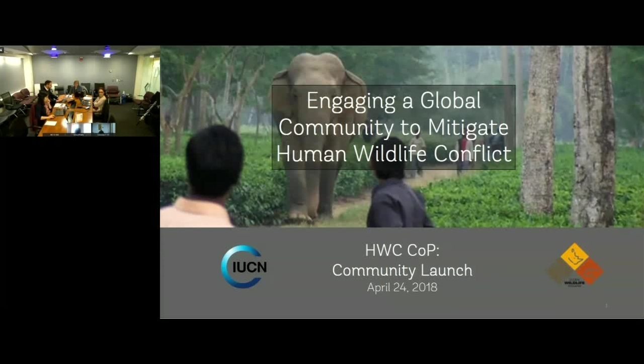 GWP Webinar- Engaging a Global Community to Mitigate Human Wildlife Conflict