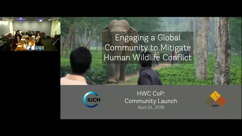 Thumbnail for entry GWP Webinar- Engaging a Global Community to Mitigate Human Wildlife Conflict