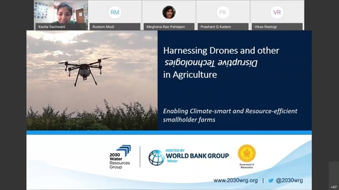 Thumbnail for entry Invite White Paper Launch - Drones and Disruptive Agri Tech-Feb 25, 2021