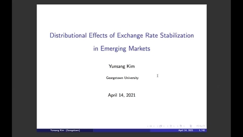 Thumbnail for entry Kuala Lumpur World Bank Research Seminar- YungSang Kim-Apr 14, 2021