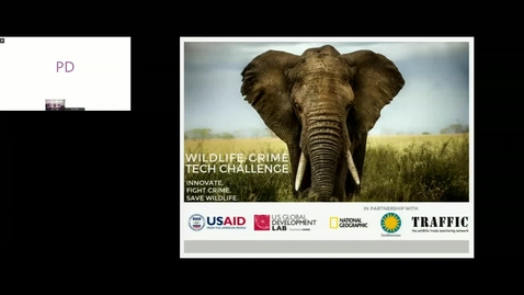 Thumbnail for entry GWP Webinar-Wildlife Crime Tech Challenge – Showcase of Innovative Technology to Combat IWT