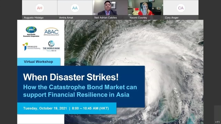 When Disaster Strikes! How the Catastrophe Bond Market can support Financial Resilience in Asia-Oct 18, 2021