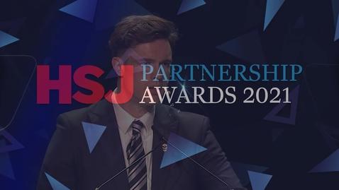 Thumbnail for entry Award 2 - Information Sharing and Data Integration Award