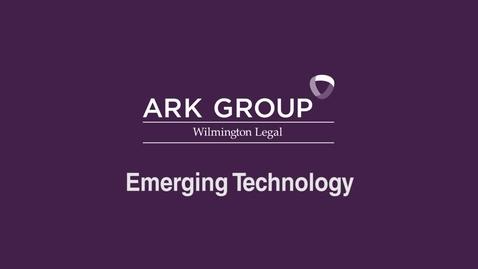 Thumbnail for entry ARK Group - Emerging Technology