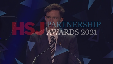Thumbnail for entry Award 12 - Best Not for Profit Working in Partnership with the NHS