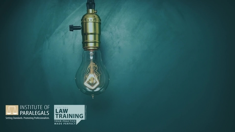 Thumbnail for entry #4 How To Become a Paralegal - Essential Issues for Legal Practitioners