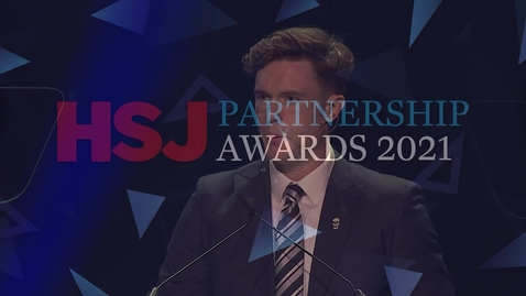 Thumbnail for entry Award 7 - Best Consultancy Partnership with the NHS