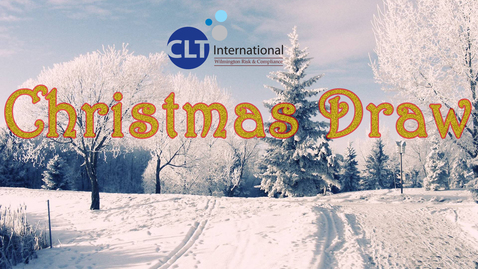 Thumbnail for entry CLT International Christmas Draw
