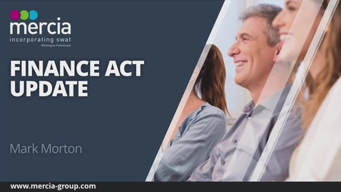 Thumbnail for entry 2019 Finance Act Update