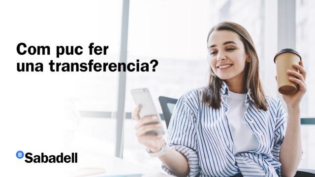 Com fer una transferència?