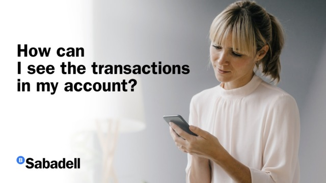 How can I see account transactions?