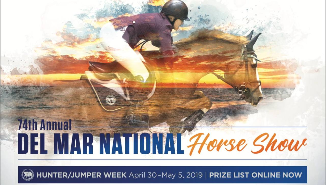Live Stream from the Del Mar National Hunter Jumper Week, April 30 - May 5