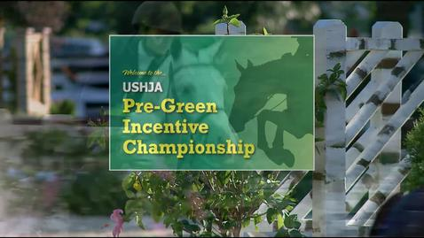 Trailer- USHJA Pre-Green Incentive Championship