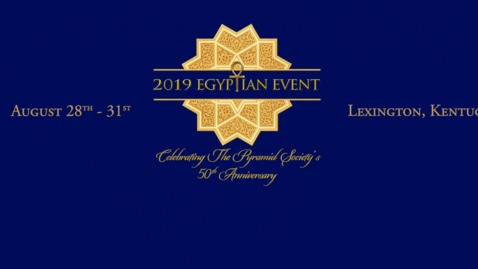 Live Stream from the Egyptian Event, August 28 - 31