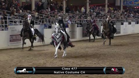 Thumbnail for entry Scottsdale Arabian Mounted Native Costume Championship