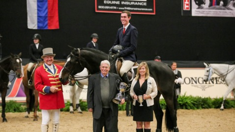 Thumbnail for entry National Horse Show Live Stream: Oct 27 - Nov 4