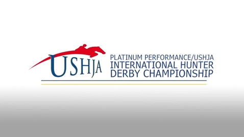 Top 3 from the Classic Round of the Platinum Performance/USHJA International Hunter Derby Championship