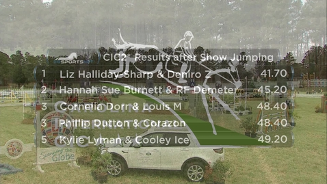 Thumbnail for entry Highlights of CIC2* Top 5 Following Show Jumping