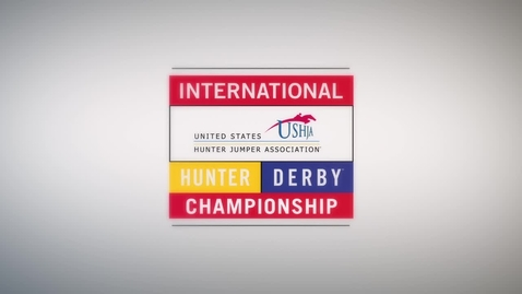 Thumbnail for entry Watch Wall-to-Wall Coverage of the 2016 USHJA International Hunter Derby Championship