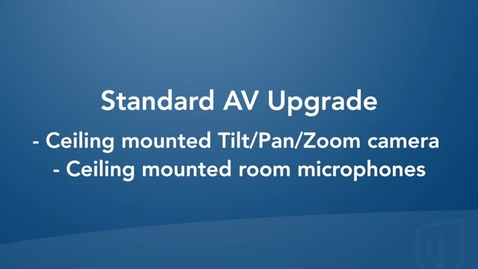 Thumbnail for entry Standard Room Configuration with Student Audio