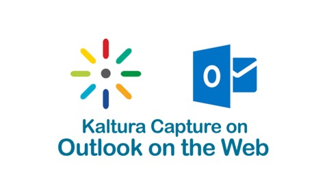 Thumbnail for entry Kaltura Capture Outlook on web settings