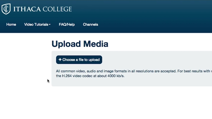 How to Upload Media