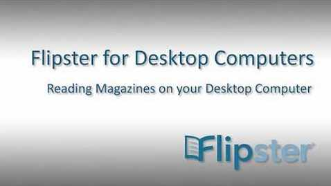 Thumbnail for entry Flipster on Desktop Computers - Tutorial
