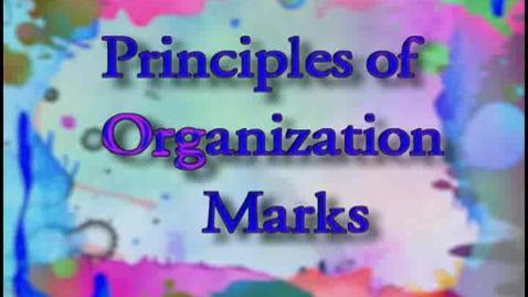 Thumbnail for entry ART110 Part  2 - Principles of Organization - Marks