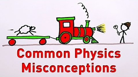 Thumbnail for entry Common Physics Misconceptions