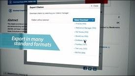 Thumbnail for entry SpringerLink - Citations & Metrics
