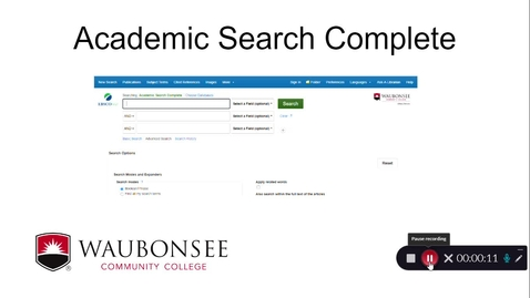 Thumbnail for entry Academic Search Complete 9/2020