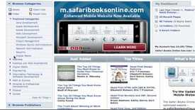 Thumbnail for entry Safari Books Online: Browsing within Categories