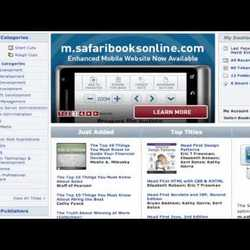 Thumbnail for channel Safari Books Online Tutorials