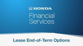 Honda Auto Lease Termination, End Car Lease Details