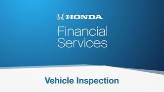 Honda End Car Lease Vehicle Inspection