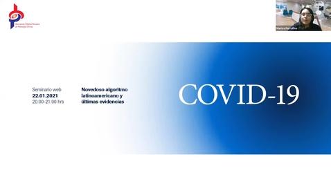 Thumbnail for entry COVID-19: Novedoso algoritmo latinoamericano y últimas evidencias